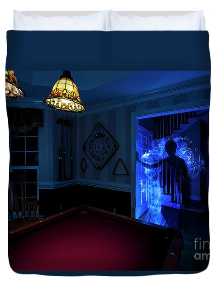 Ghost Of The Parlor Duvet Cover