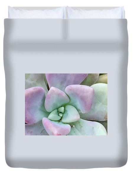 Ghost Plant Duvet Cover by Russell Keating