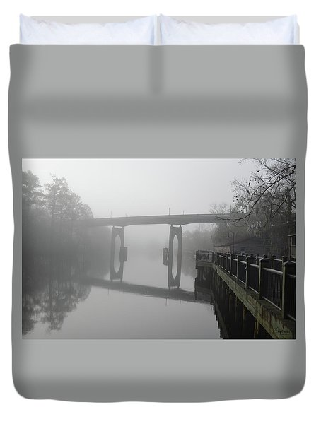 Ghost River Duvet Cover by Gordon Mooneyhan