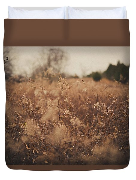 Duvet Cover featuring the photograph Ghost by Shane Holsclaw