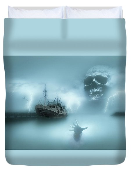 Ghost Ship 0002 Duvet Cover