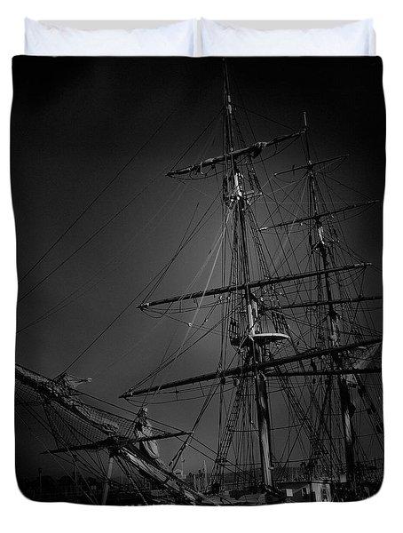Ghost Ship Duvet Cover