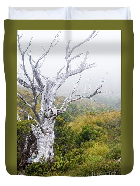 Duvet Cover featuring the photograph Ghost by Werner Padarin