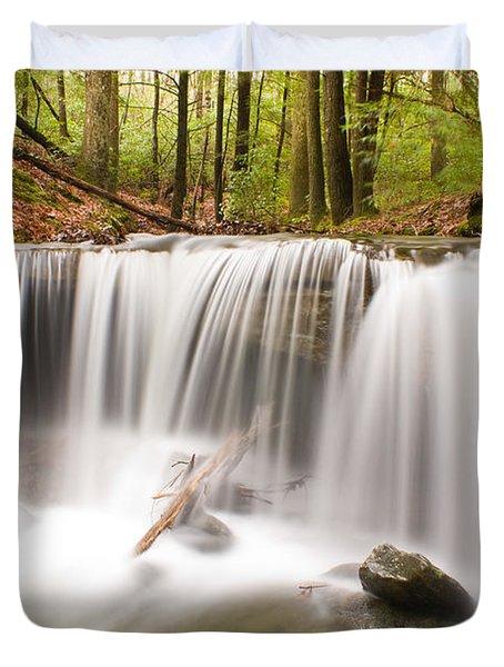 Ghostly Waterfall Duvet Cover by Douglas Barnett