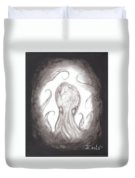 Ghostopus Duvet Cover