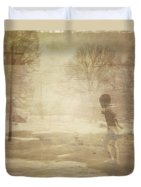 Ghosts And Shadows Vi - Mistaken Duvet Cover
