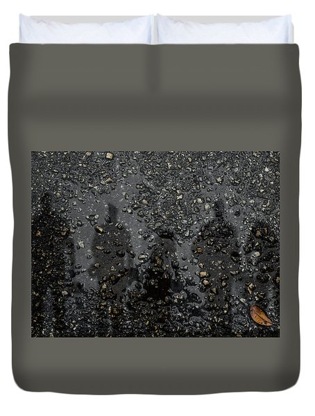 Ghosts Everywhere Duvet Cover