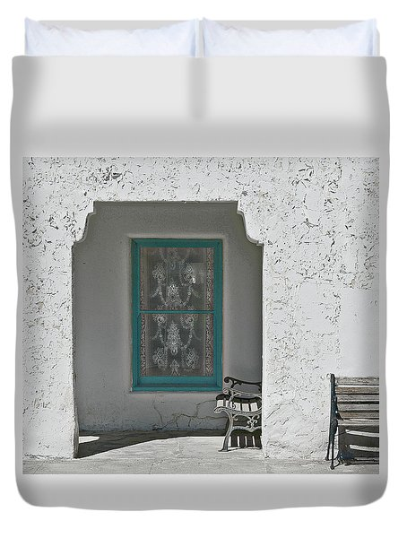 Duvet Cover featuring the photograph Ghosts by Jeff Burgess