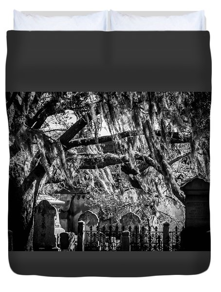 Ghoul's Night Out Duvet Cover