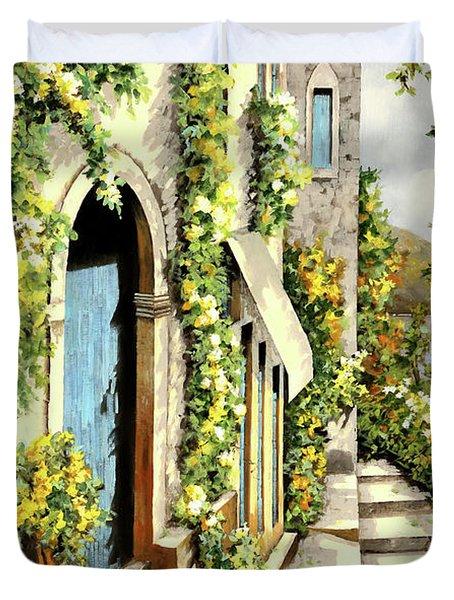 Giallo Limone Duvet Cover