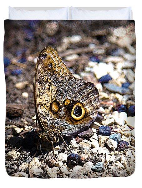 Giant Owl Duvet Cover