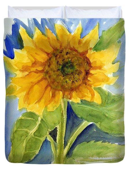 Giant Sunflower Duvet Cover