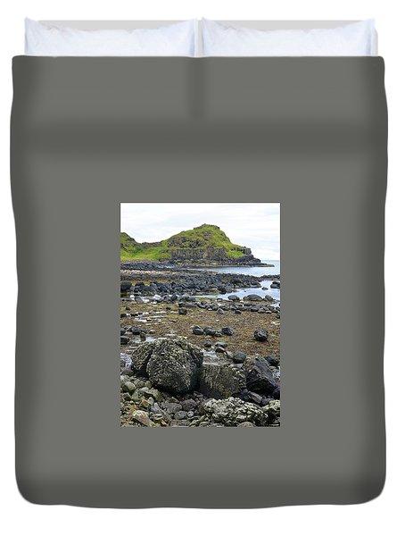 Giant's Causeway Duvet Cover by Matt MacMillan