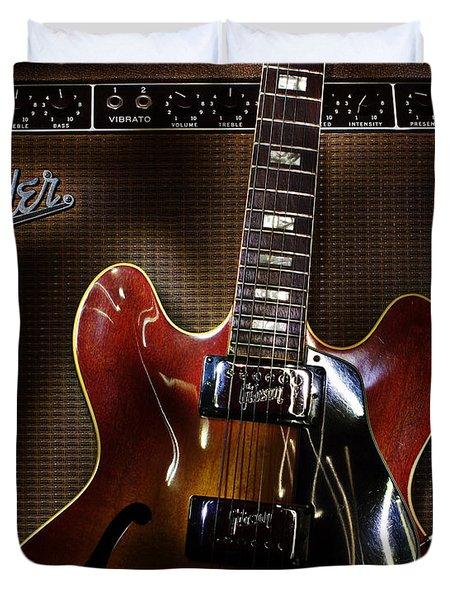 Gibson 335 Duvet Cover