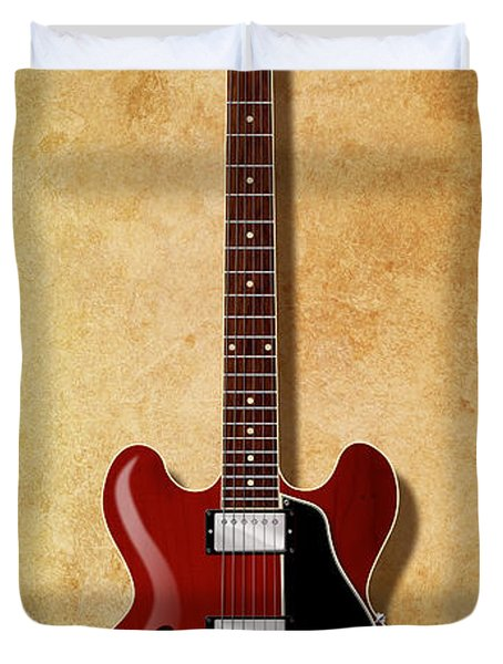 Gibson Es-335 Since 1958 Duvet Cover