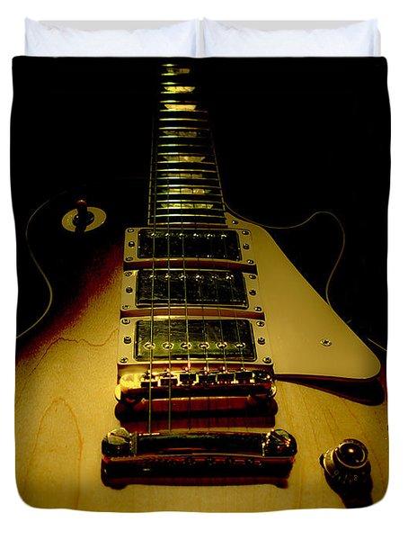Guitar Triple Pickups Spotlight Series Duvet Cover