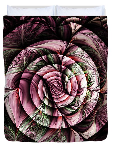Gift For A Lady Abstract Duvet Cover by Georgiana Romanovna