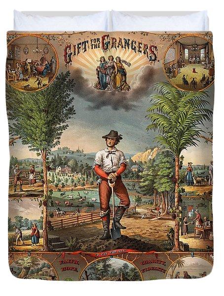 Gift For The Grangers Promotional Poster 1873 Duvet Cover