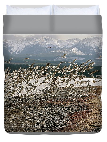 Gift From The Sea Duvet Cover