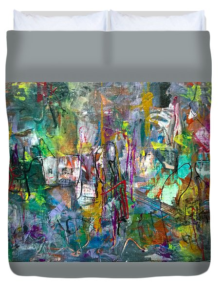 Gift From/to Oma Duvet Cover