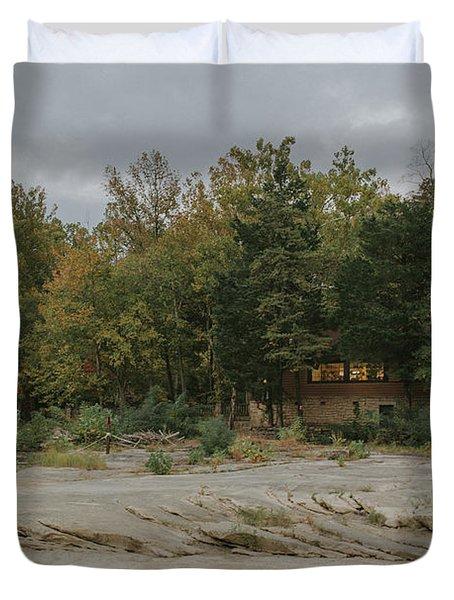 Gift Shop At Cumberland Falls Duvet Cover