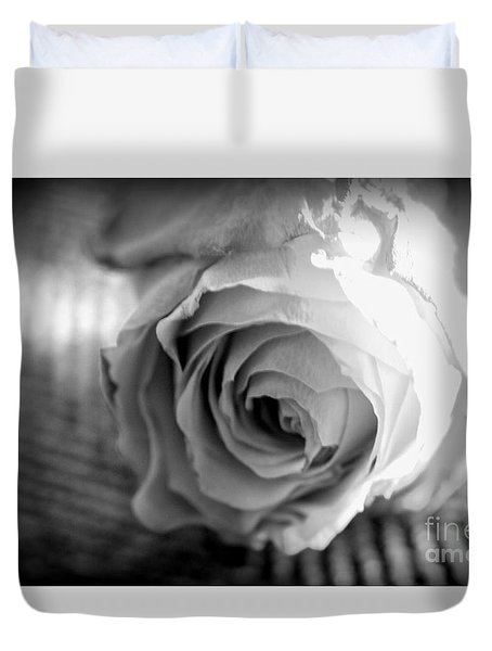 Duvet Cover featuring the photograph Gift by Steven Macanka
