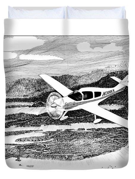 Gig Harbor Flyover Duvet Cover by Jack Pumphrey