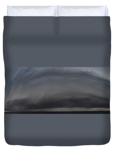 Gimme Shelter  Duvet Cover