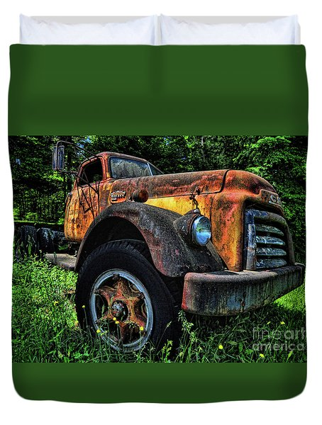 Jimmy Diesel Duvet Cover