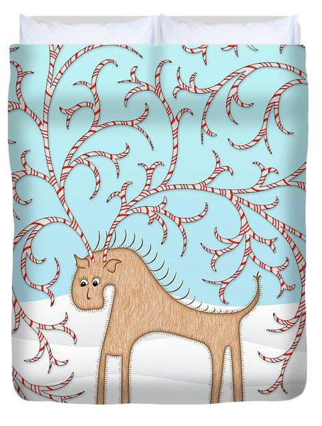 Ginger Cane Duvet Cover