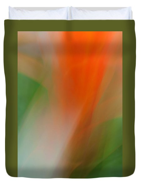Duvet Cover featuring the photograph Ginger Flower  by Catherine Lau