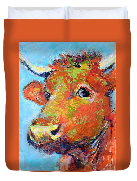 Ginger Horn Duvet Cover