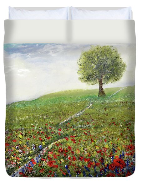 Ginger's Meadow Duvet Cover