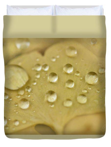 Ginkgo Balls Duvet Cover