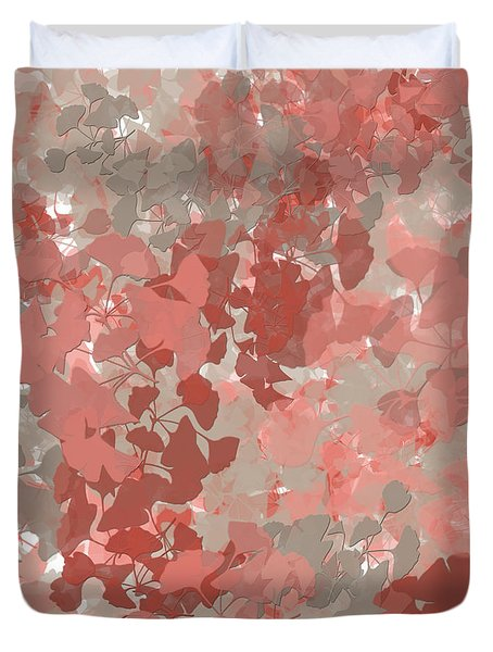 Ginkgo Leaves Duvet Cover