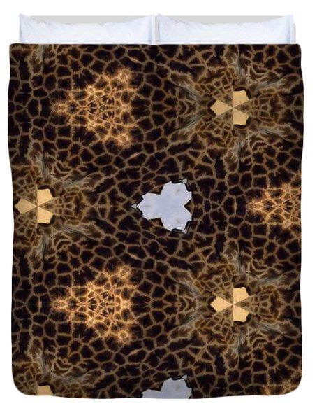 Giraffe II Duvet Cover by Maria Watt