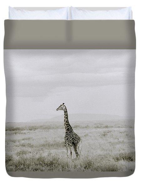 Giraffe Duvet Cover by Shaun Higson