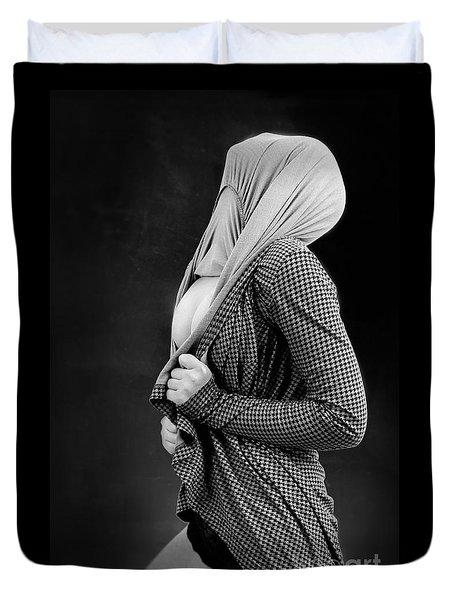 Girl #2299 Duvet Cover