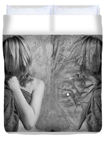 Girl #4335 Duvet Cover by Andrey Godyaykin