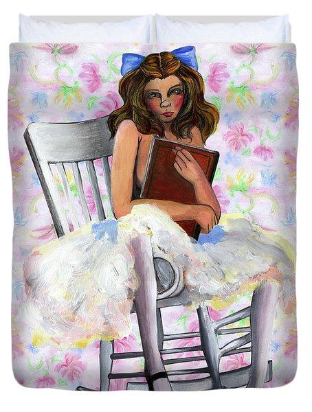 Girl Duvet Cover