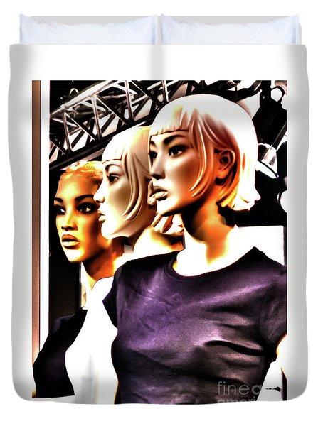 Girls_09 Duvet Cover
