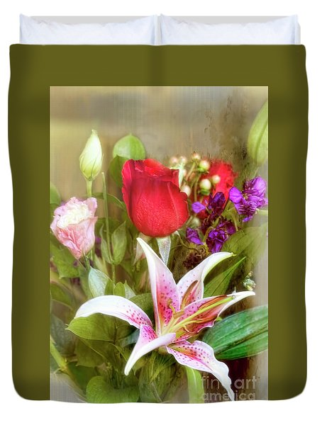 Given With Love Duvet Cover