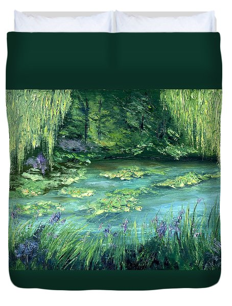 Giverny Duvet Cover by Gail Kirtz