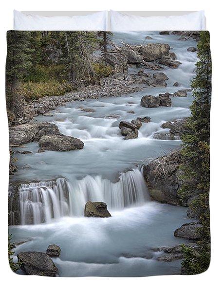 Glacial Flow Duvet Cover