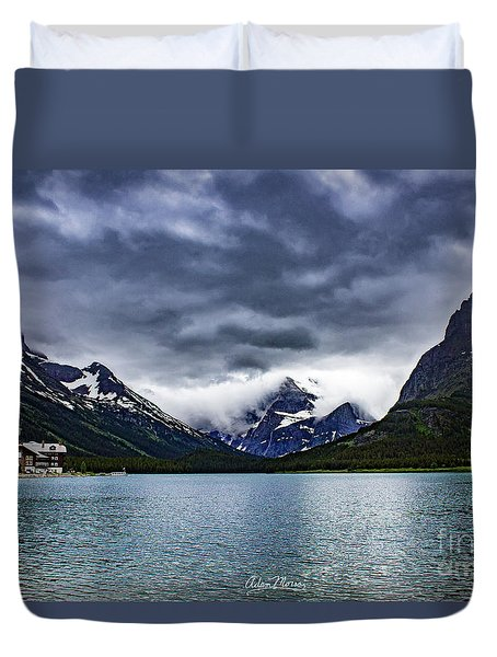 Glacial Getaway Duvet Cover