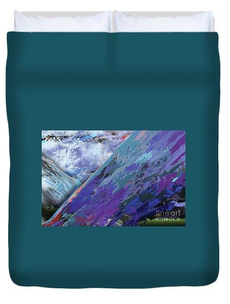 Glacial Vision Duvet Cover