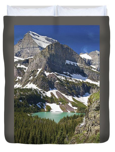 Glacier Backcountry Duvet Cover by Gary Lengyel