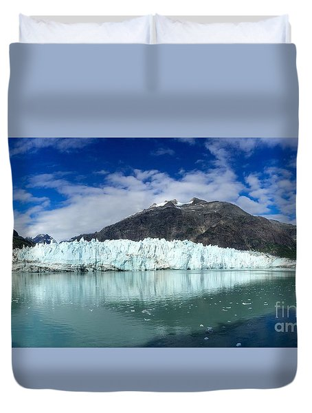 Glacier Bay Duvet Cover by Sean Griffin