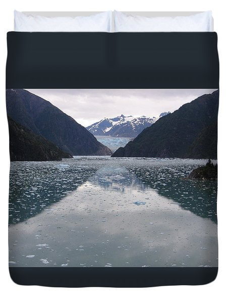 Glacier Blues Duvet Cover