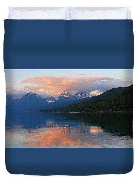 Glacier Lake Duvet Cover